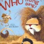 funny book review of Who Flung Dung?