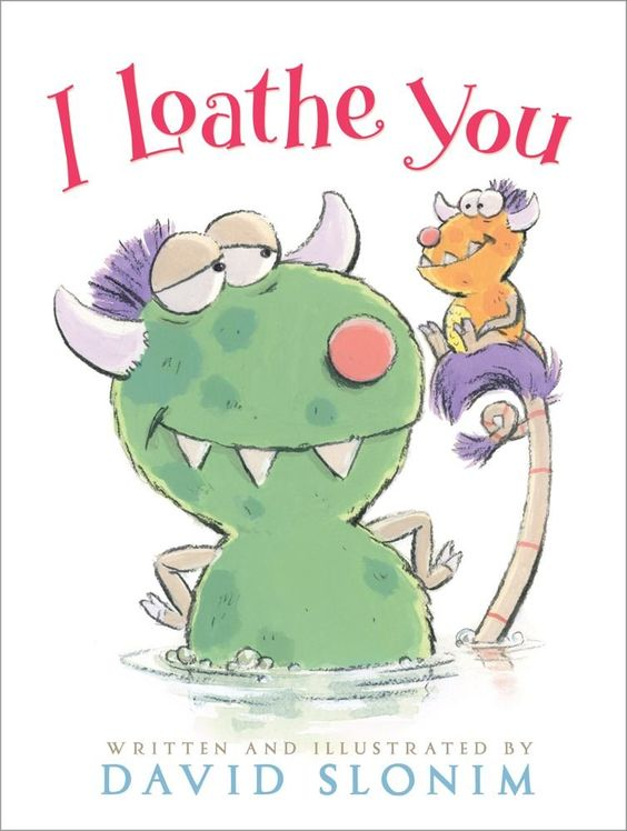 Review of David Slonim funny book: I loathe you