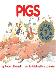 Pigs by Robert Munsch – a tacos review.