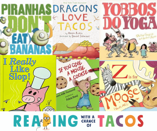 More funny books from tacos
