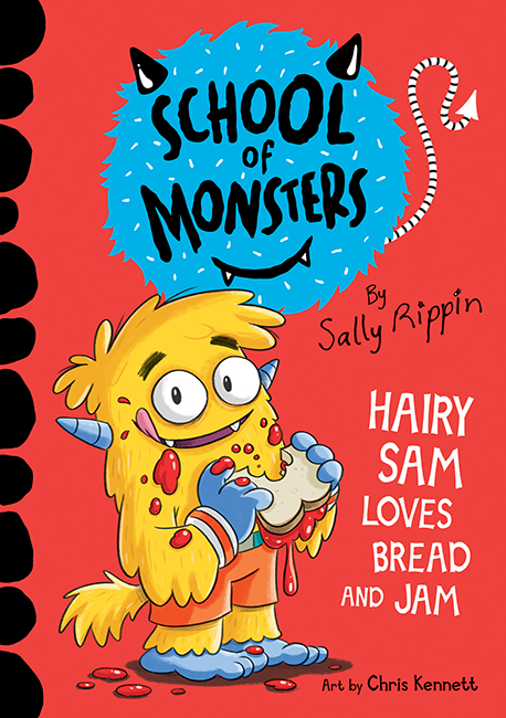 School of Monsters book cover for Hairy Sam