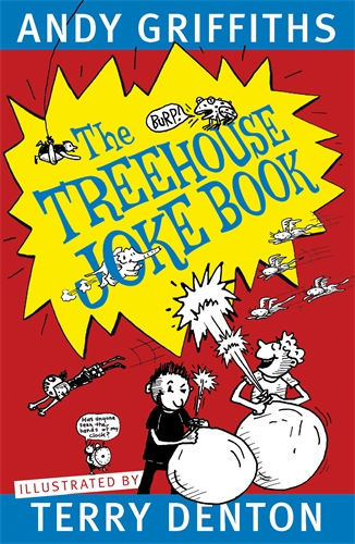 tree house joke book by Andy Griffiths