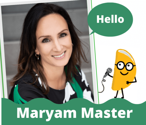 interview with Maryam Master at Reading with a chance of tacos