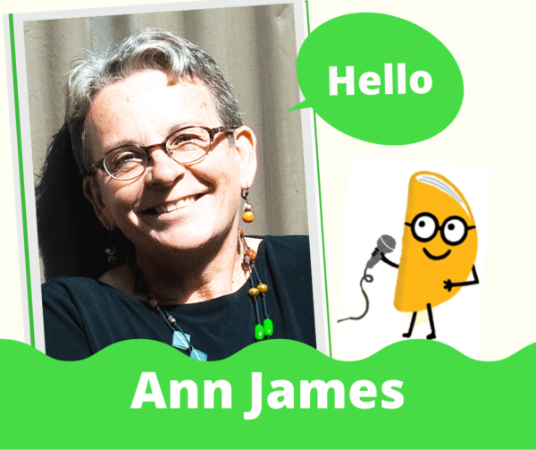 Ann James interview on Reading with a chance of tacos