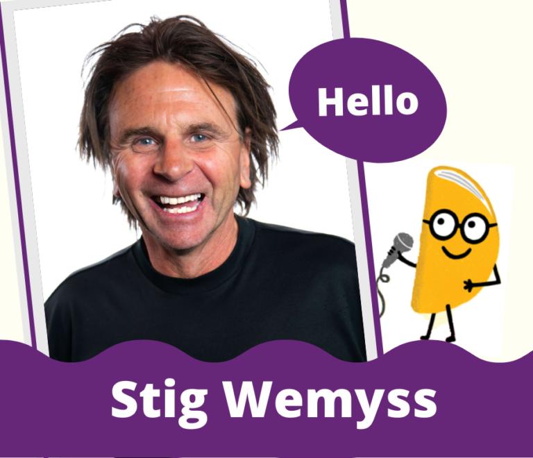 Interview with Stig Wemyss
