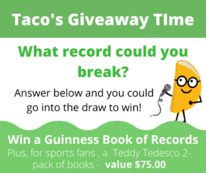 It's Taco's Giveaway Time 2