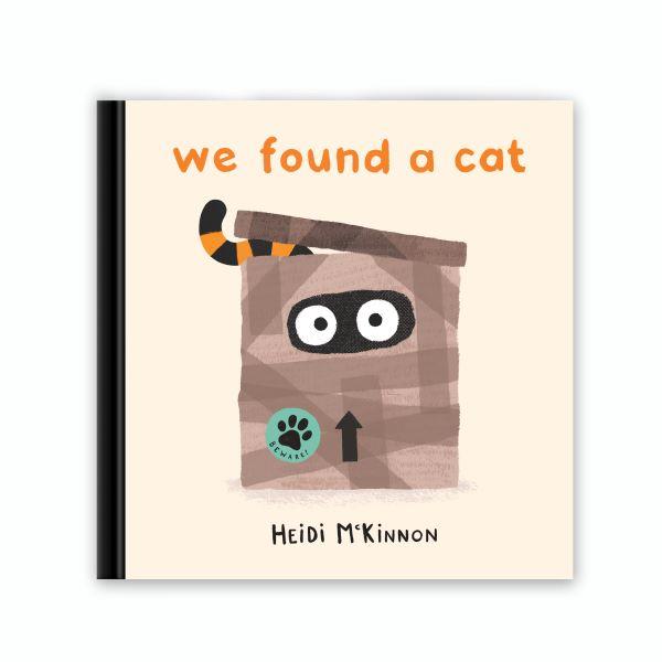 we found a cat by Heidi McKinnon - a taco's book review