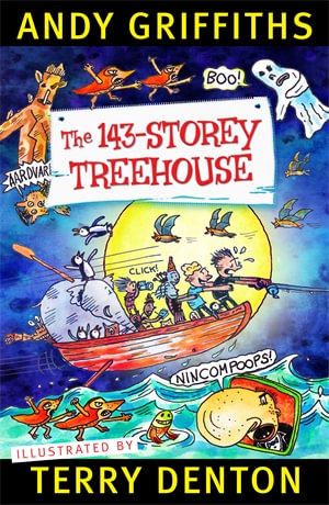 143 Story Treehouse - a taco's book review